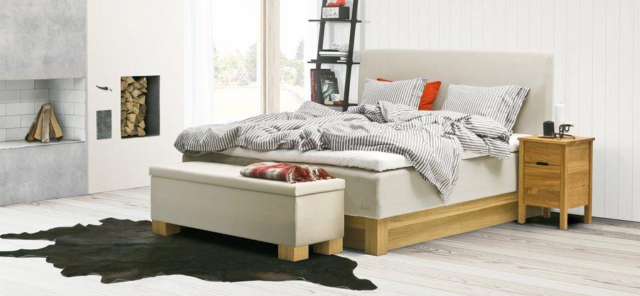 Ambassador nordic jensen bett for Bett 180x220 komplett