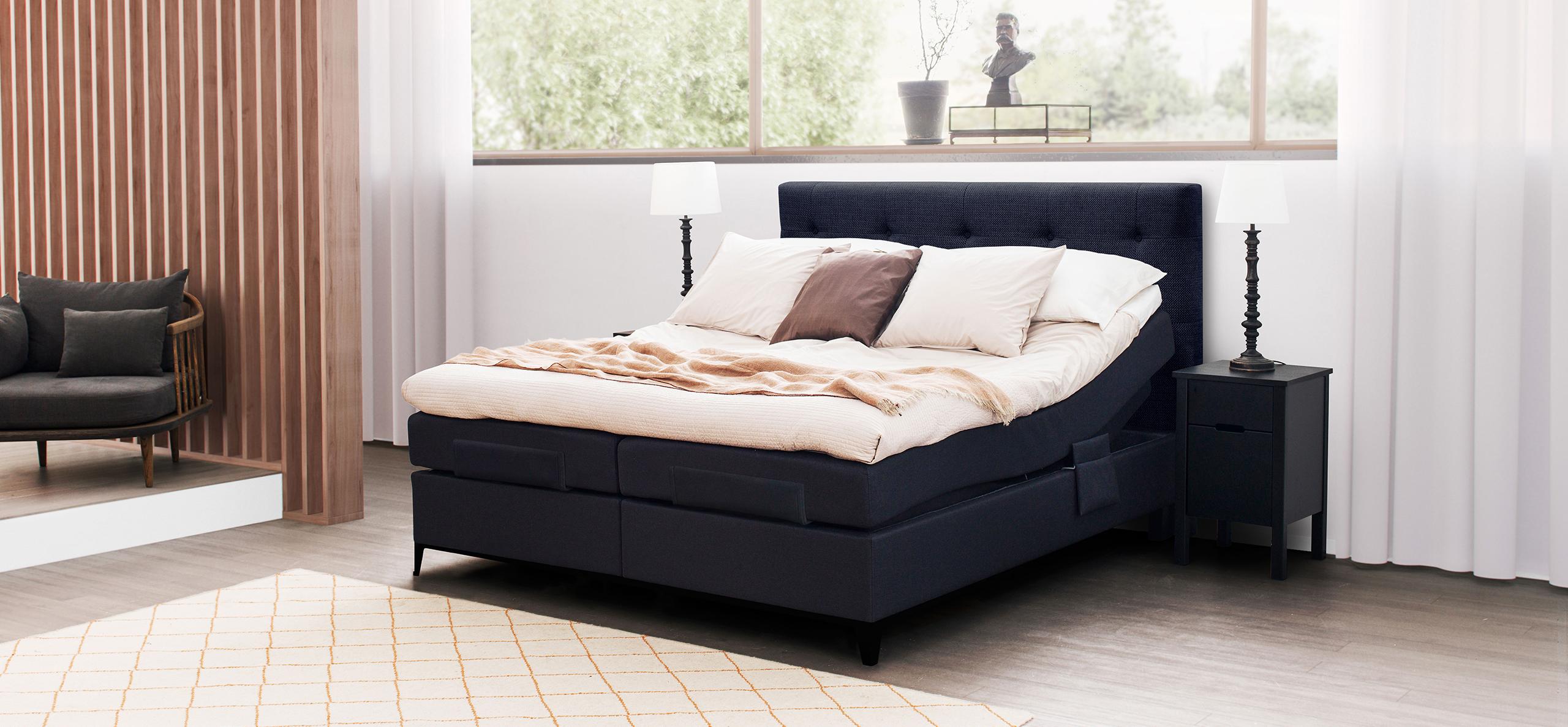 Strålende Bygg din egen Carat Aqtive II justerbar seng - Jensen Senger XT-29